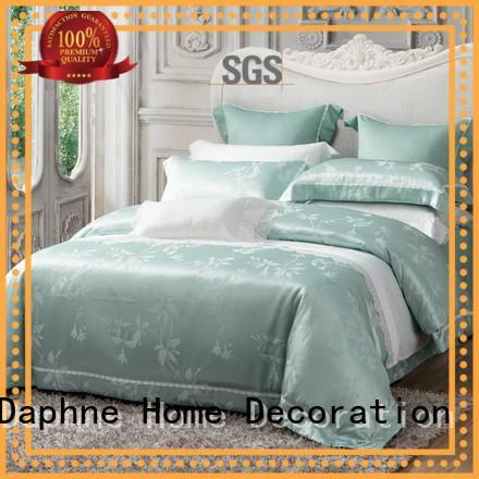 set cotton bed Daphne Brand Jacquard Bedding Set