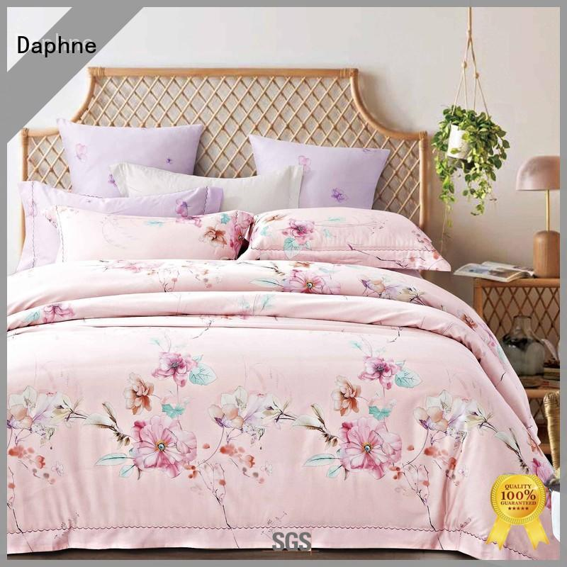 embroidery cheap cotton bedding quality bed Daphne