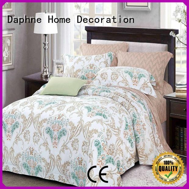 printed bed Bamboo Bedding Sets cotton bedding Daphne company
