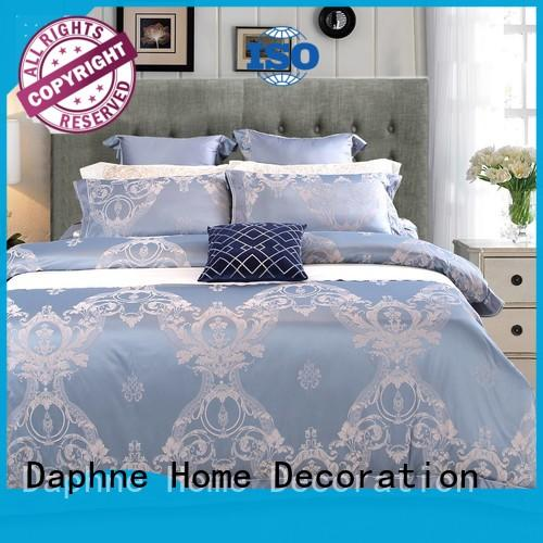Daphne Brand noble bamboo silk Jacquard Bedding Set