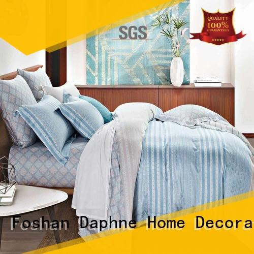Daphne simple bamboo sheets queen printed cover