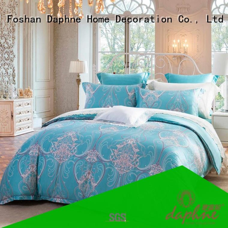 Daphne special designed Cotton Bedding Sets plaid for bedroom