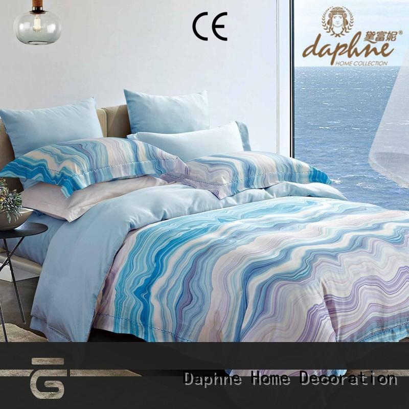 Daphne bridal bedding set suppliers linen cheap price