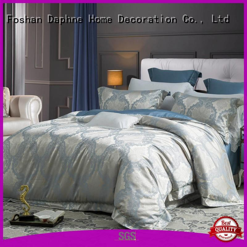cream jacquard bedding floral fast delivery Daphne