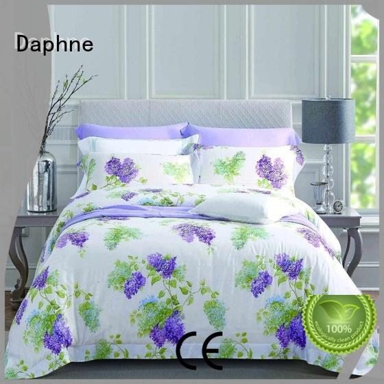 sophisticated modal knit sheets flowers bedding Daphne