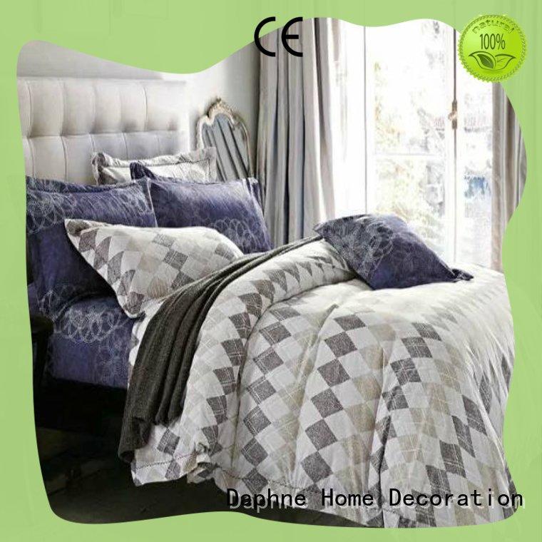 sheet microfiber polyester comforter print bedding Daphne