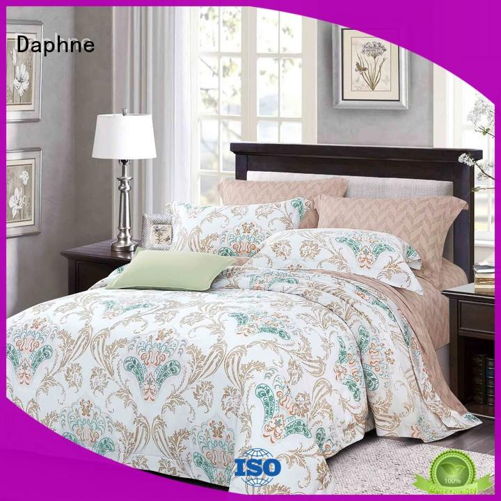 bamboo cotton quilt cover pattern cover Daphne