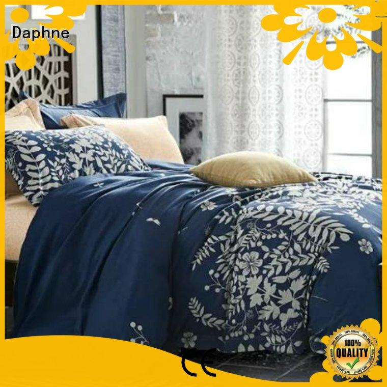 Custom sheet duvet microfiber comforter set Daphne cover