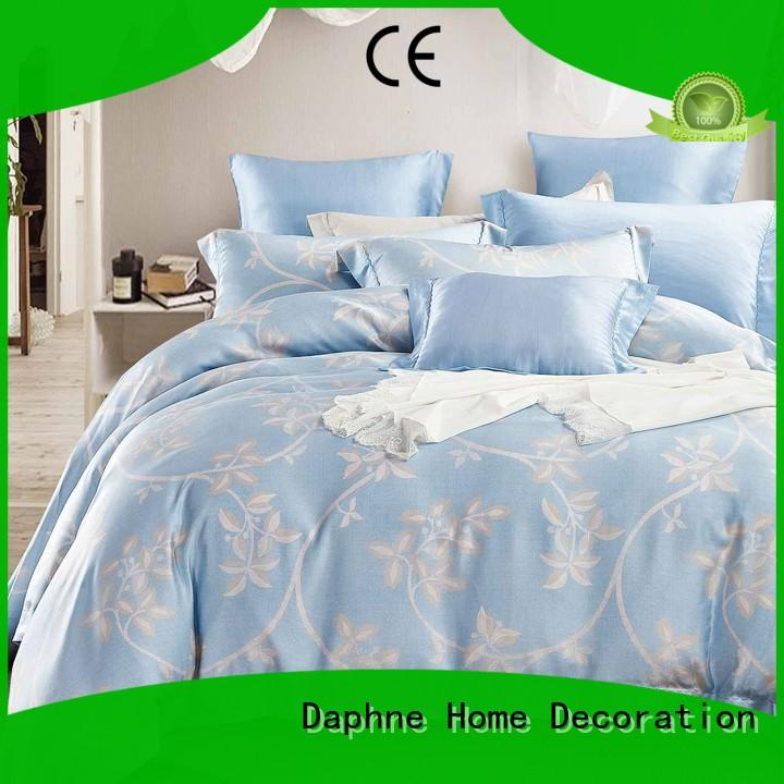Daphne breathable bamboo fiber bed sheets sky bed
